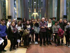 Visita a la Sagrada Família 2015