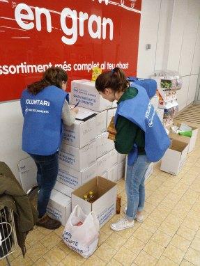 Voluntariat Banc dels Aliments 2016