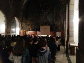 Vetlla de la Creu de Lampedusa a Girona 2017