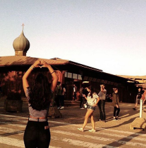 Guanyadora del fotoconcurs #TaizéGi17